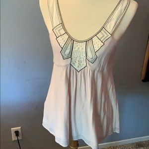 BCBGMaxazria blush colored tank. | Size M|